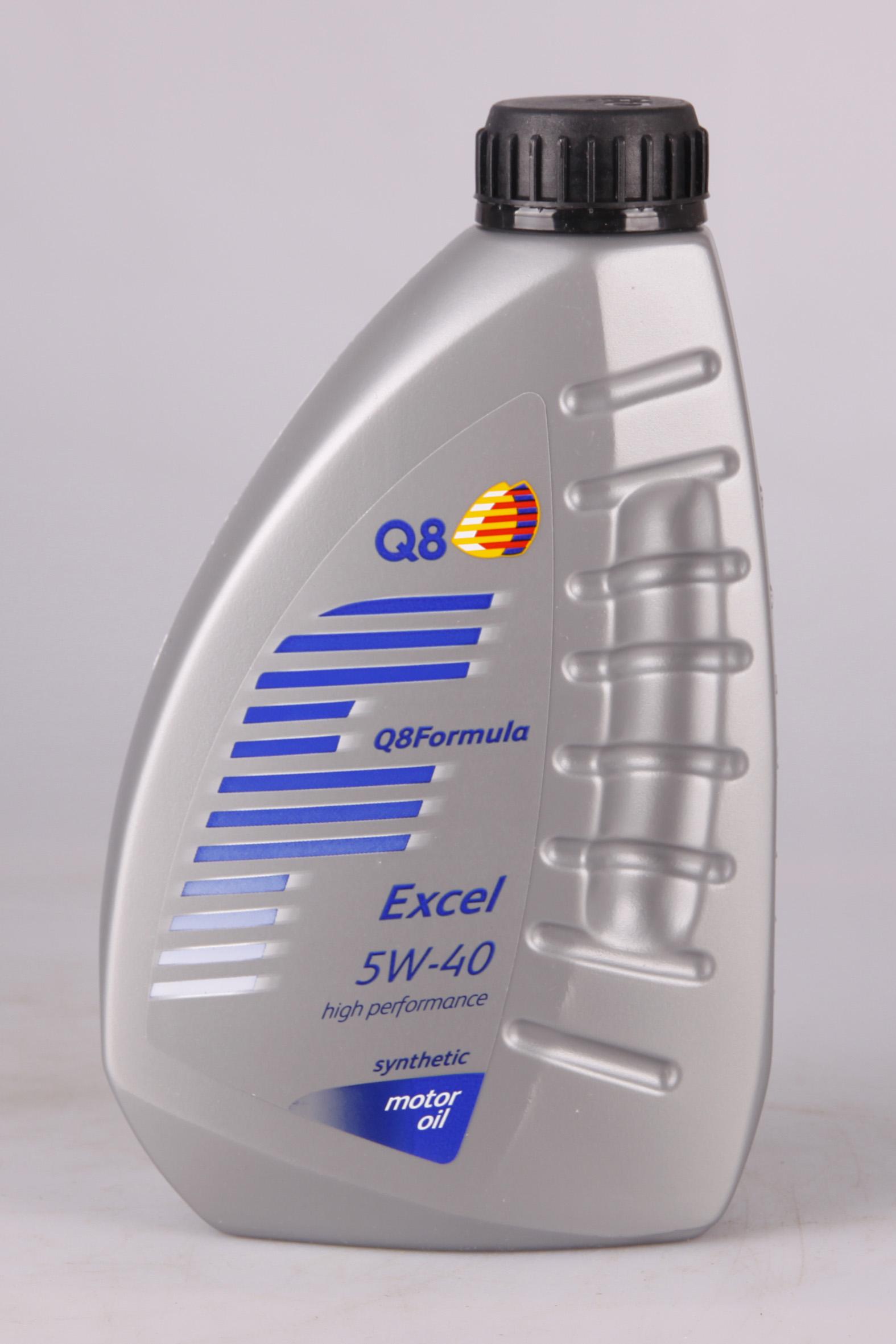 Q8 Formula Excel 5W-40 1 Liter
