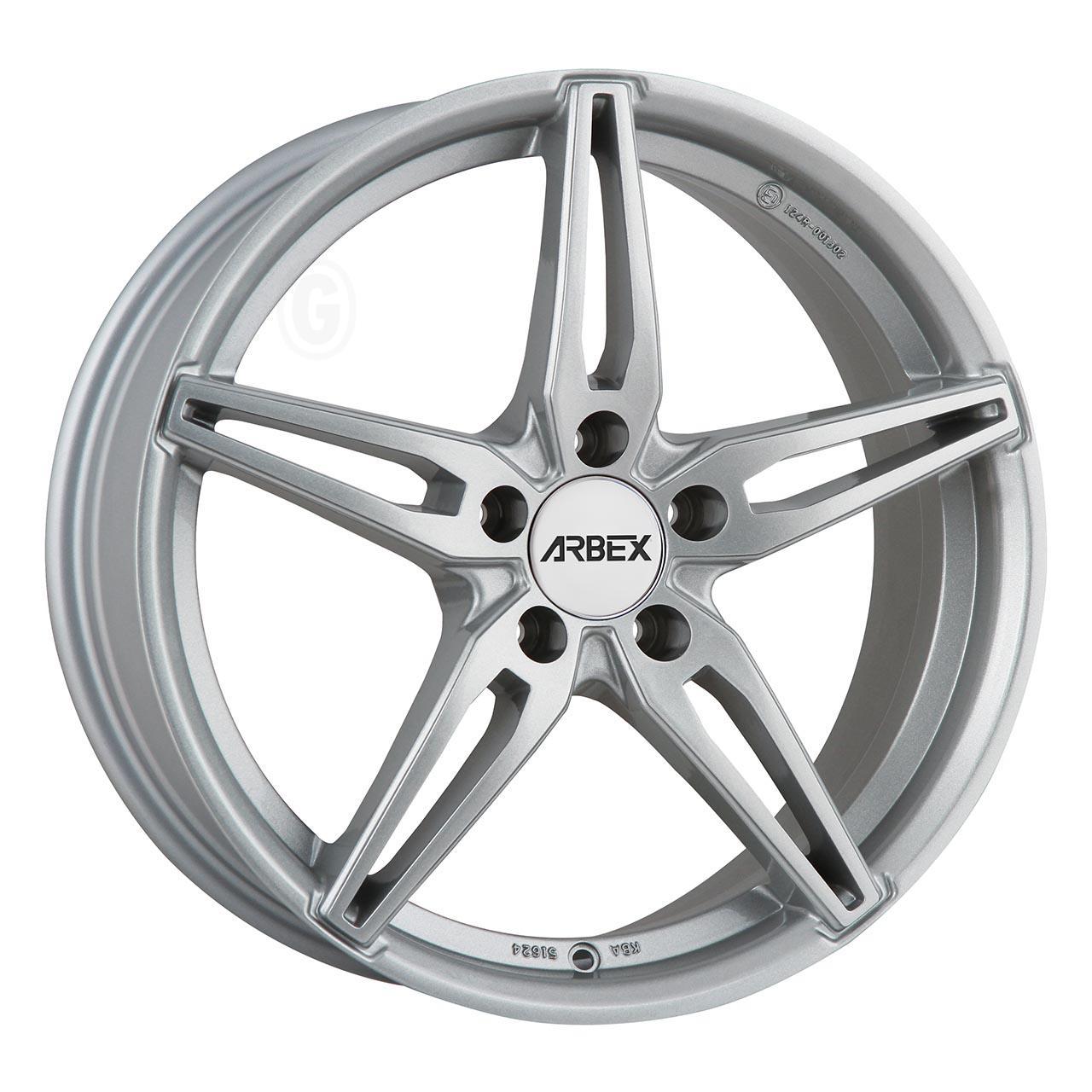 Arbex Arbex 4 Silver 7.5Jx18 5x115 ET41