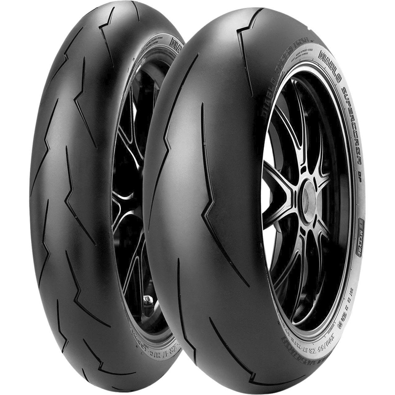 Pirelli Diablo Supercorsa V3 SP Rear 180/55ZR17 M/C (73W) TL