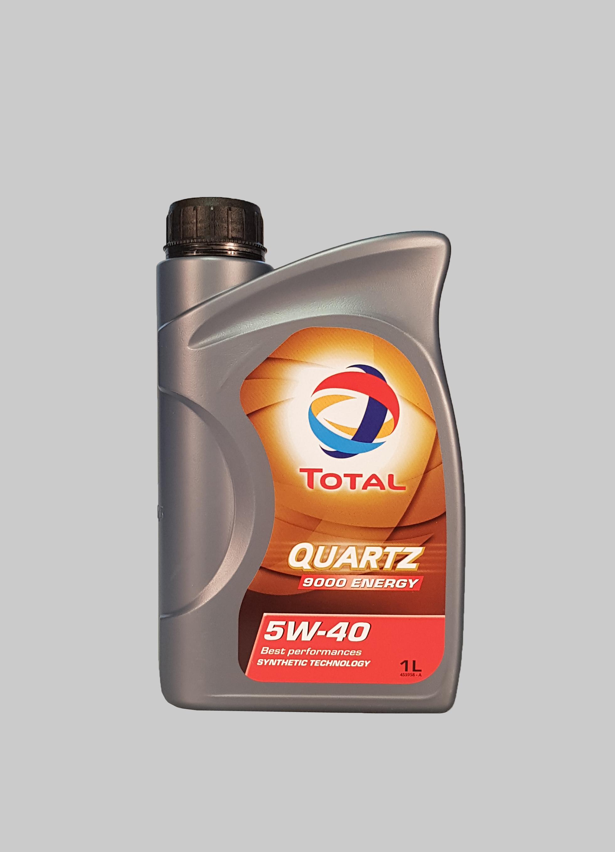 Total Quartz 9000 Energy 5W-40 1 Liter