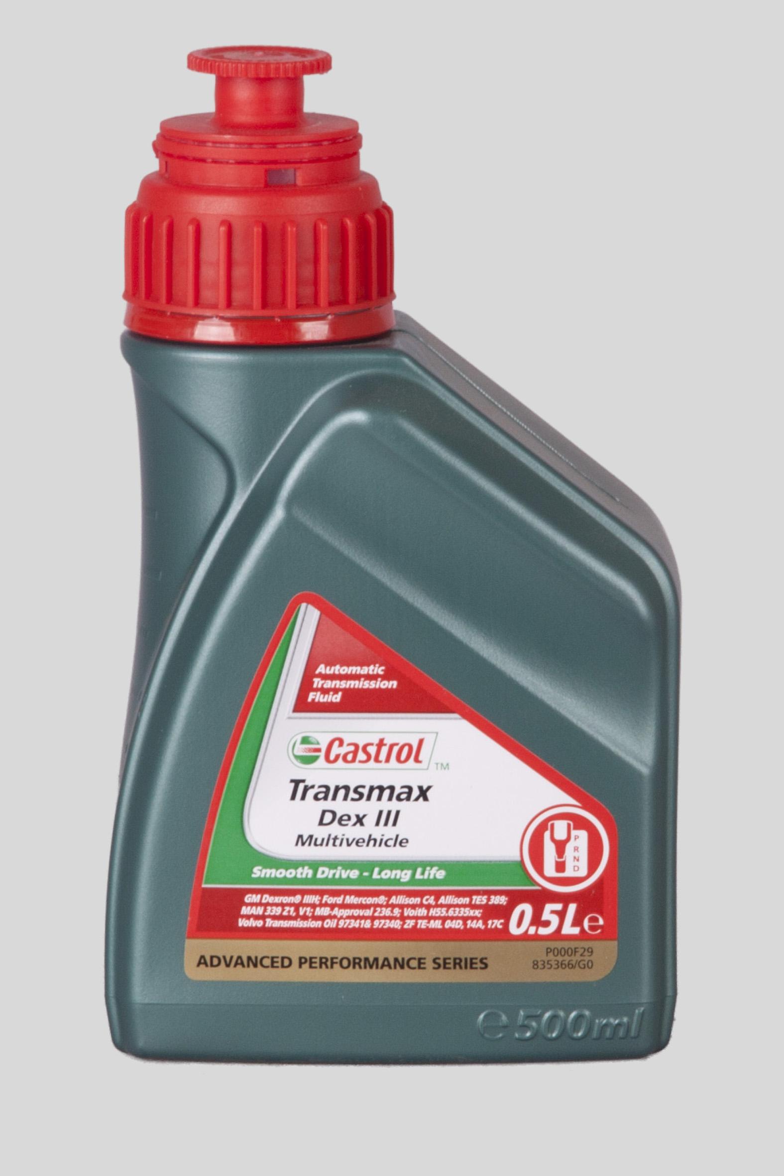 Castrol Transmax Dex III Multiv. 500ml