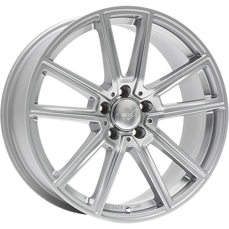Wheelworld Wh30 Full silver 8Jx18 5x112 ET45
