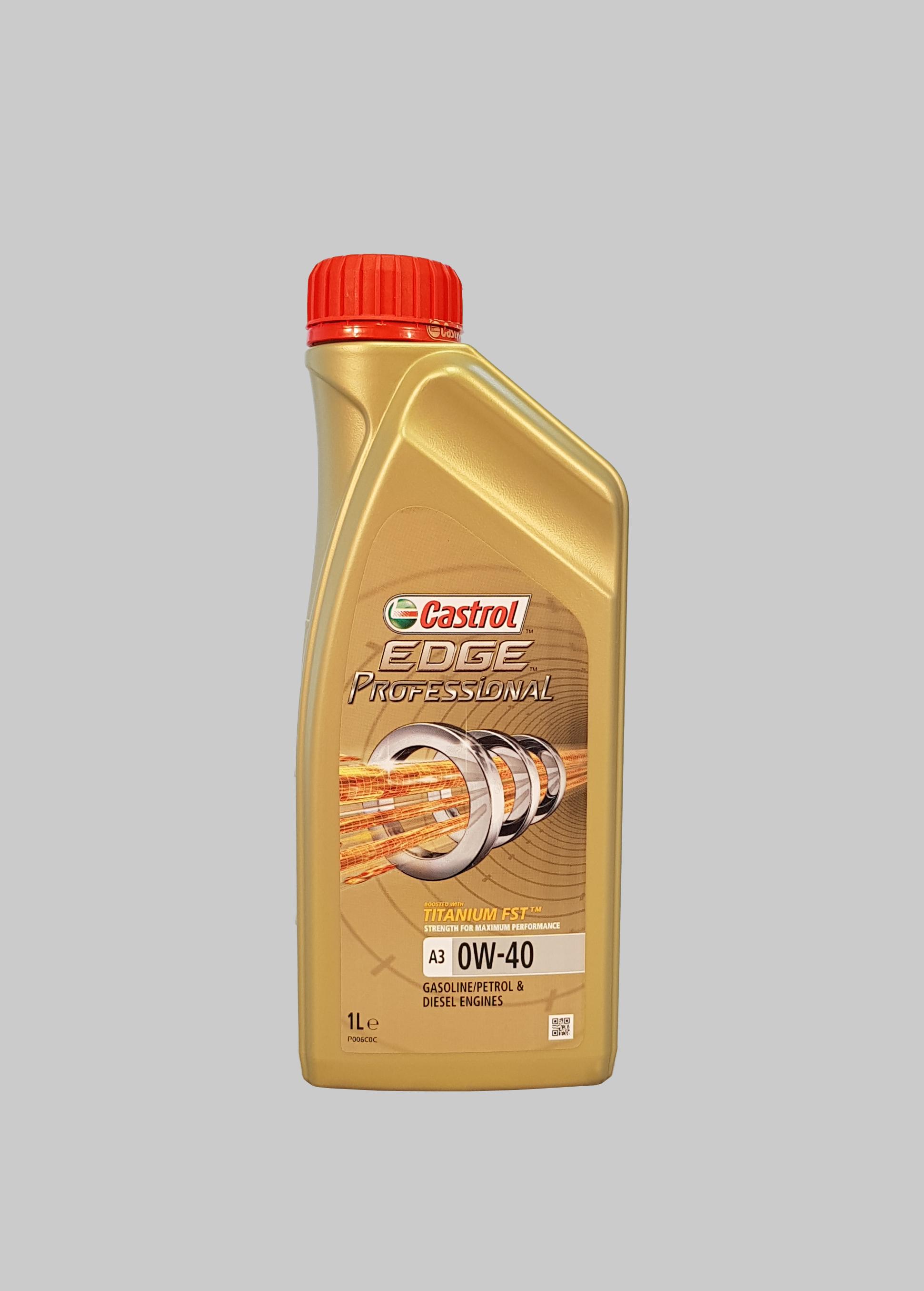 Castrol Edge Professional Titanium FST A3 0W-40 1 Liter