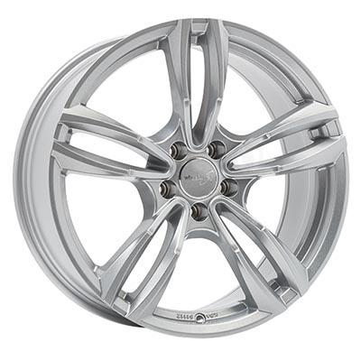 Wheelworld Wh29 Full silver 8.5Jx18 5x112 ET45
