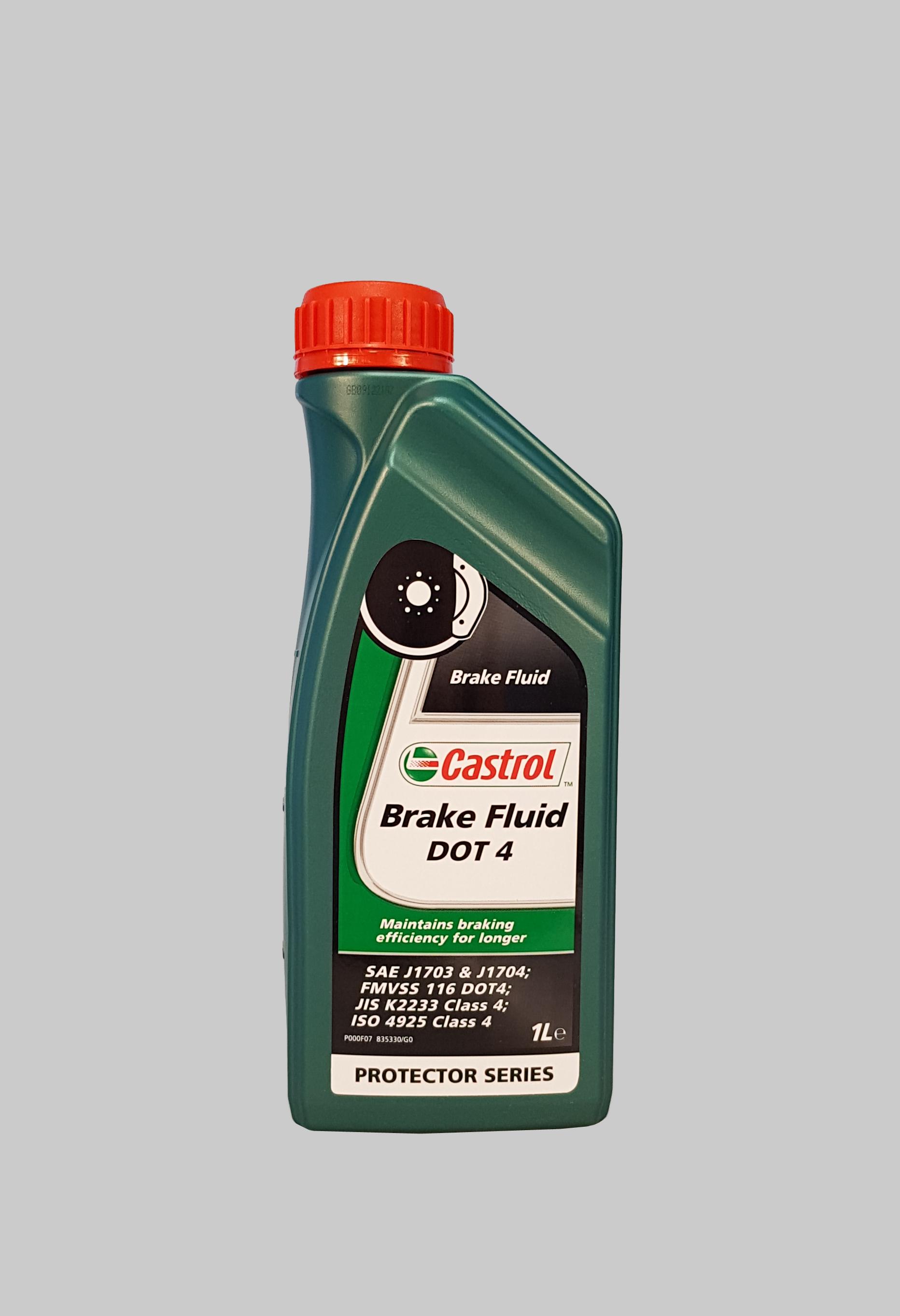 Castrol Brake Fluid DOT 4 1 Liter