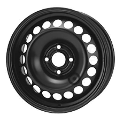 Kromag 6445 Black 6Jx15 4x100 ET39