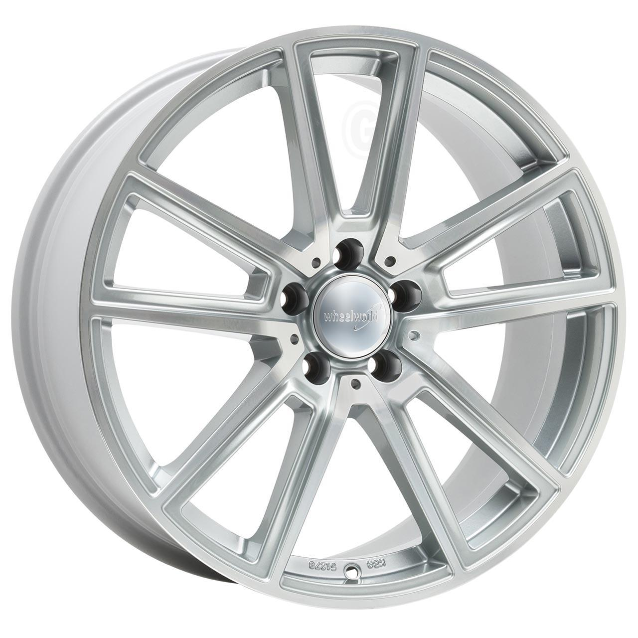 Wheelworld Wh30 Silver full machined 8Jx18 5x112 ET45