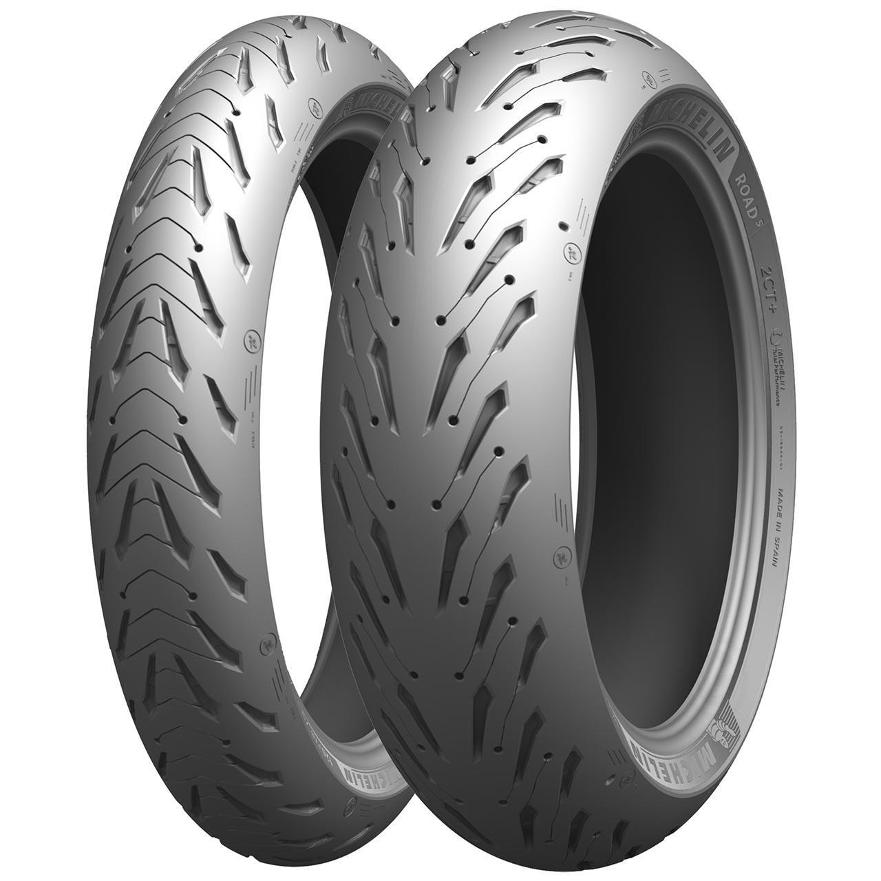 Michelin Pilot Road 5 Rear 180/55ZR17 M/C (73W) TL