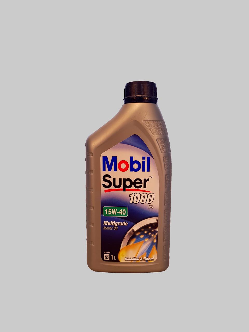 Mobil Super 1000 X1 15W-40 1 Liter
