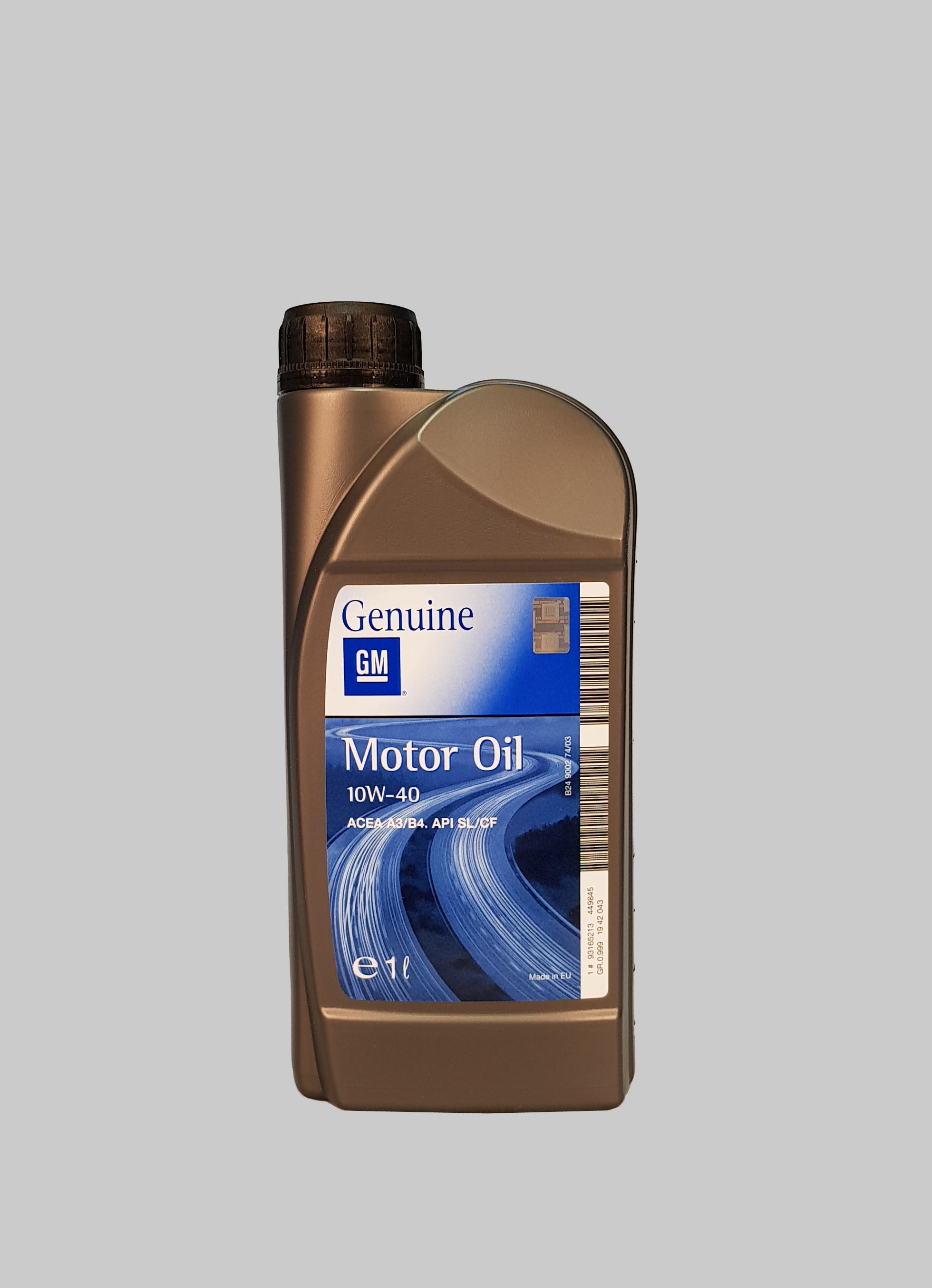 GM - Opel 10W-40 SL/CF 1 Liter