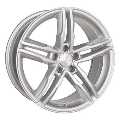 Wheelworld Wh11 Full silver 8Jx18 5x112 ET45