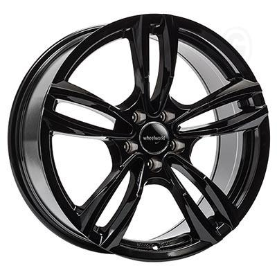 Wheelworld Wh29 Black glossy painted 8.5Jx18 5x112 ET45
