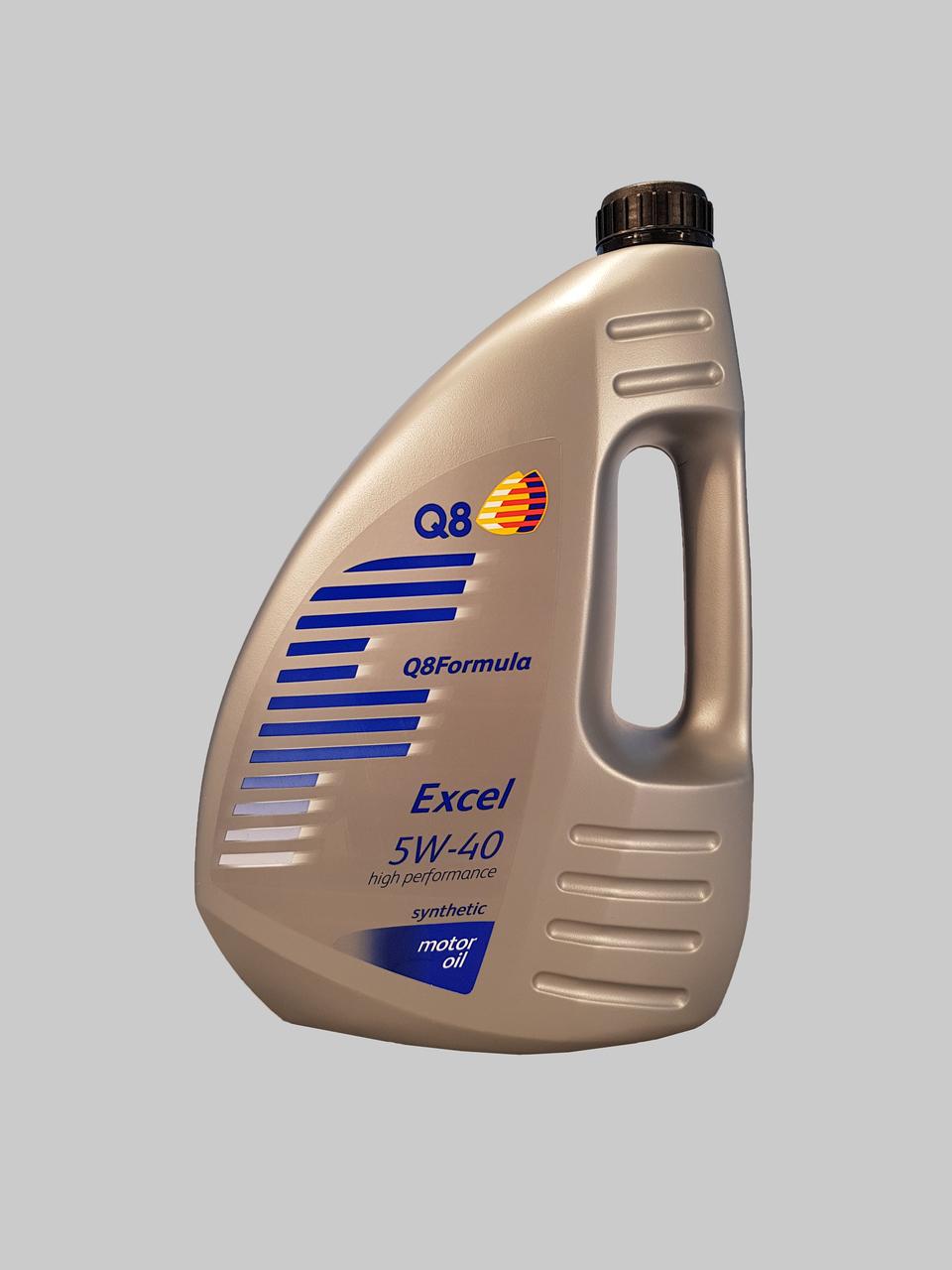 Q8 Formula Excel 5W-40 4 Liter