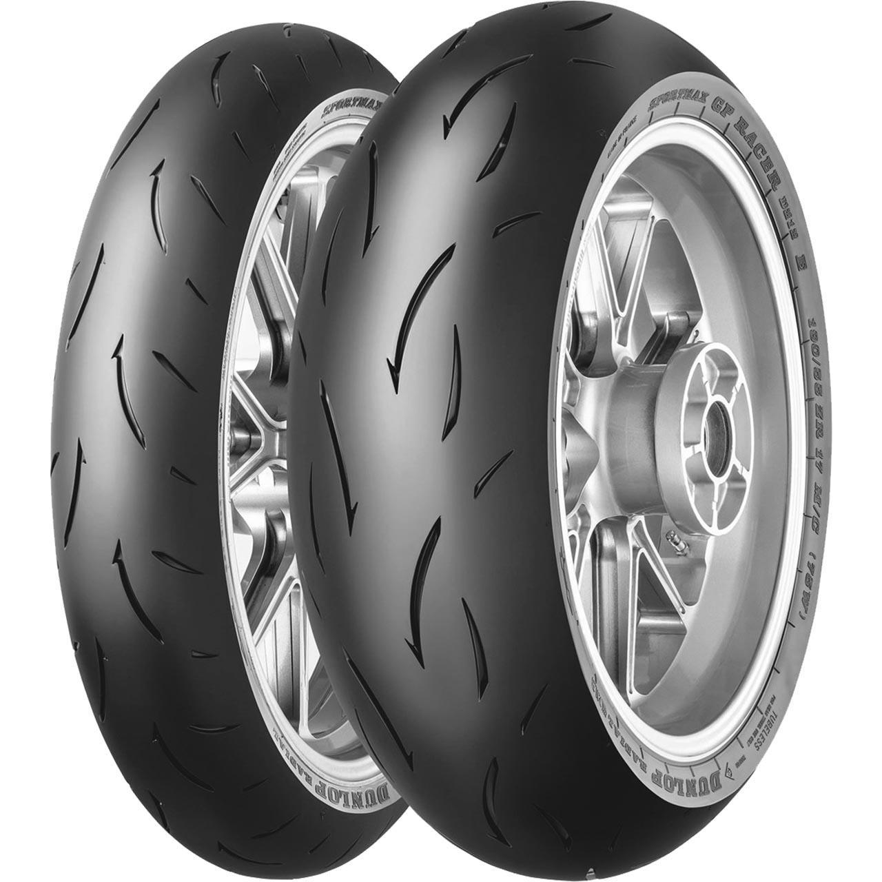 Dunlop Sportmax GP Racer D212 E Rear 180/55ZR17 (73W) TL